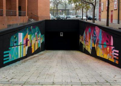 Arte urbano para todxs en Villaverde